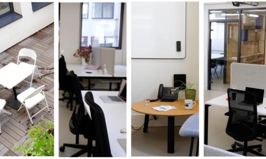 Tarifs préférentiels sur nos bureaux privés cet été.